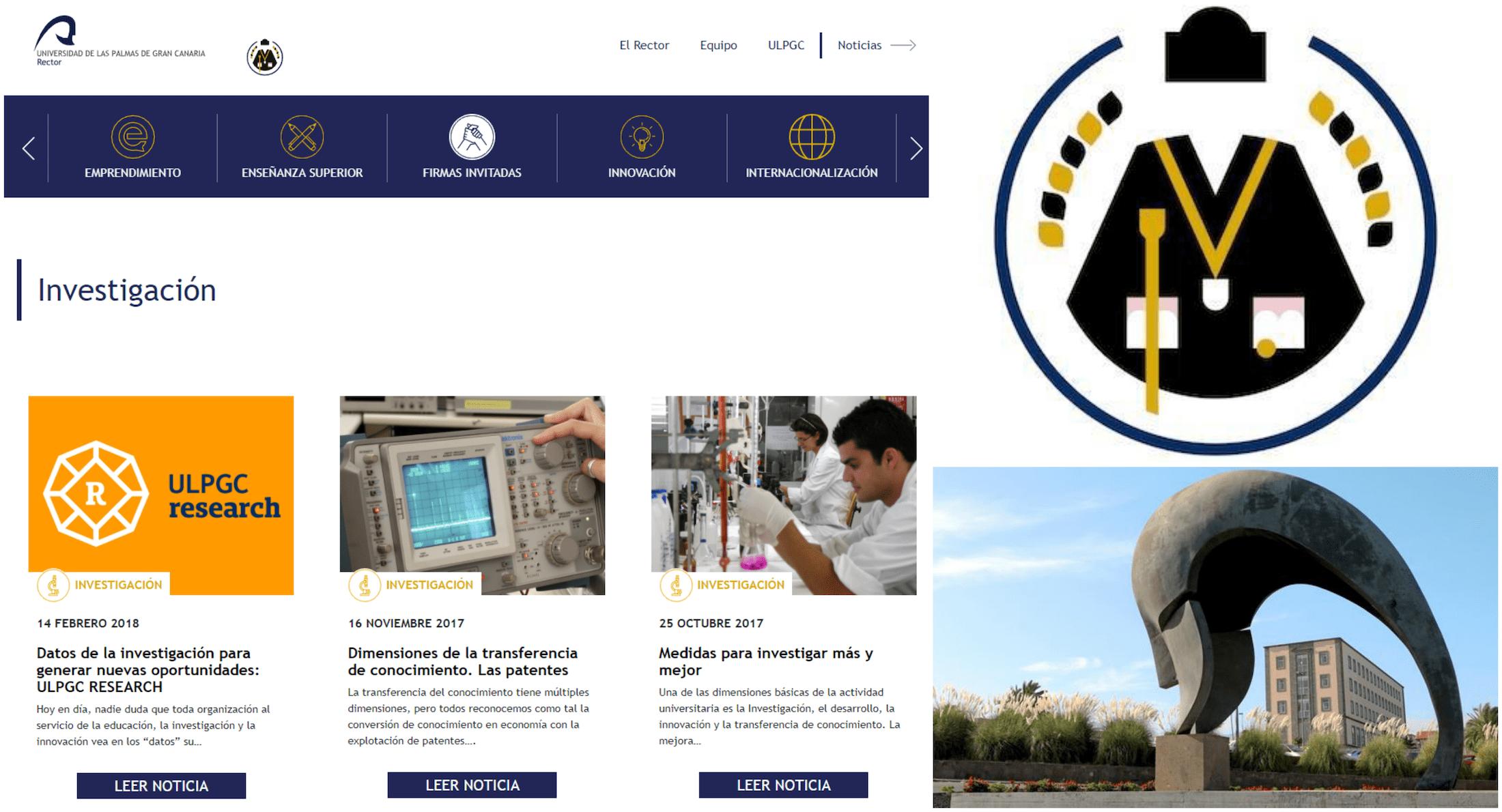 Creamos una marca sólida en torno a la figura del Rector de la ULPGC para fortalecer la imagen de la universidad