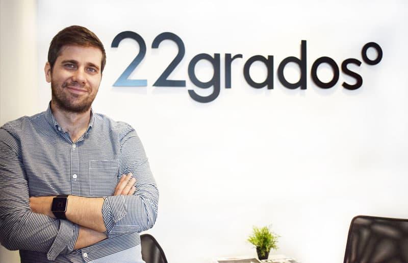 Fran Sánchez, nombrado CEO de 22gradosº