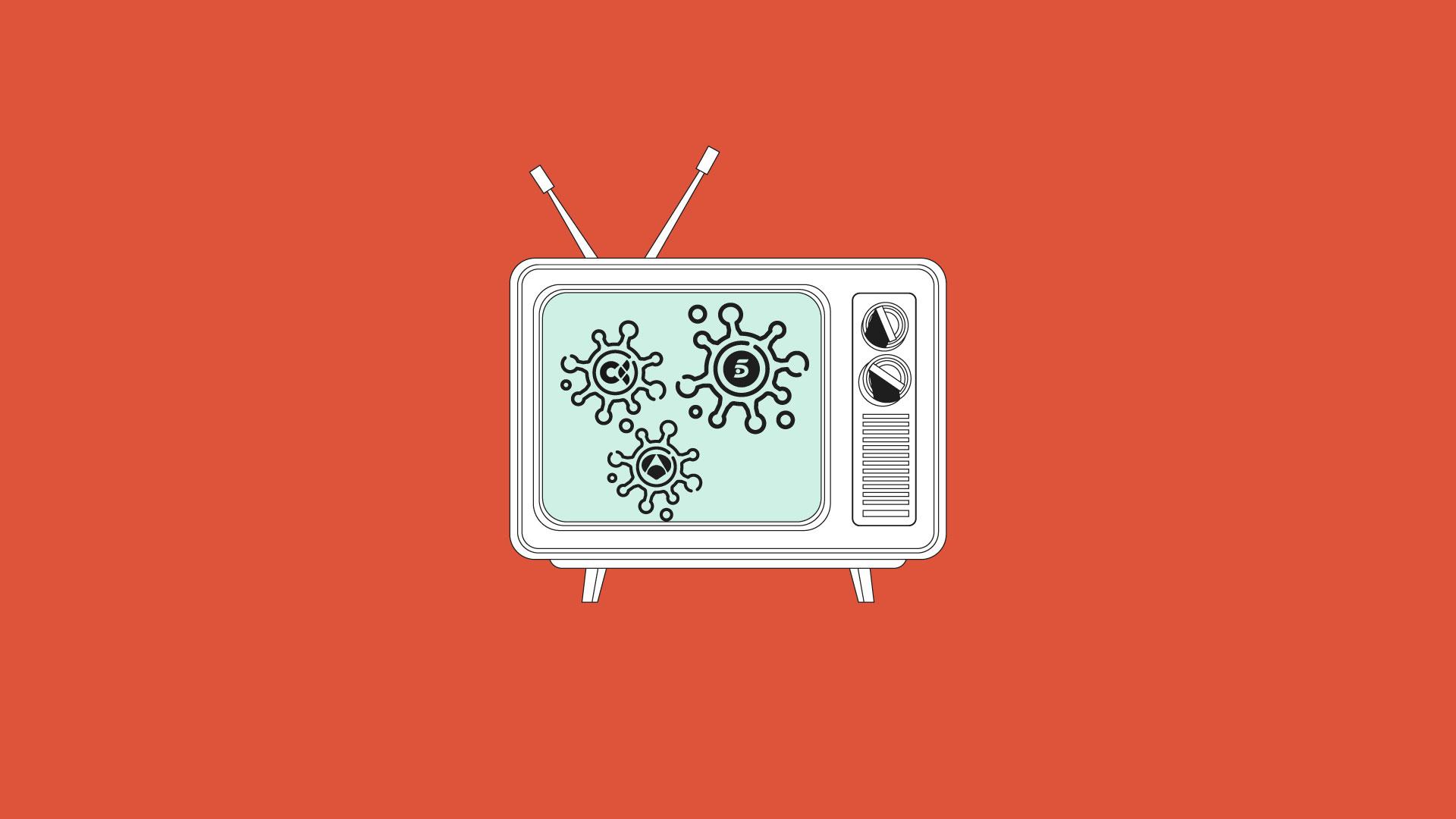 La Televisión bate récords de audiencia por el COVID-19