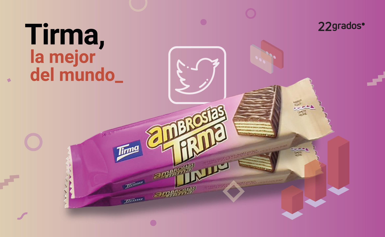 Tirma consigue un alcance de 16 millones de usuarios únicos en el #MundialdeChocolatinas