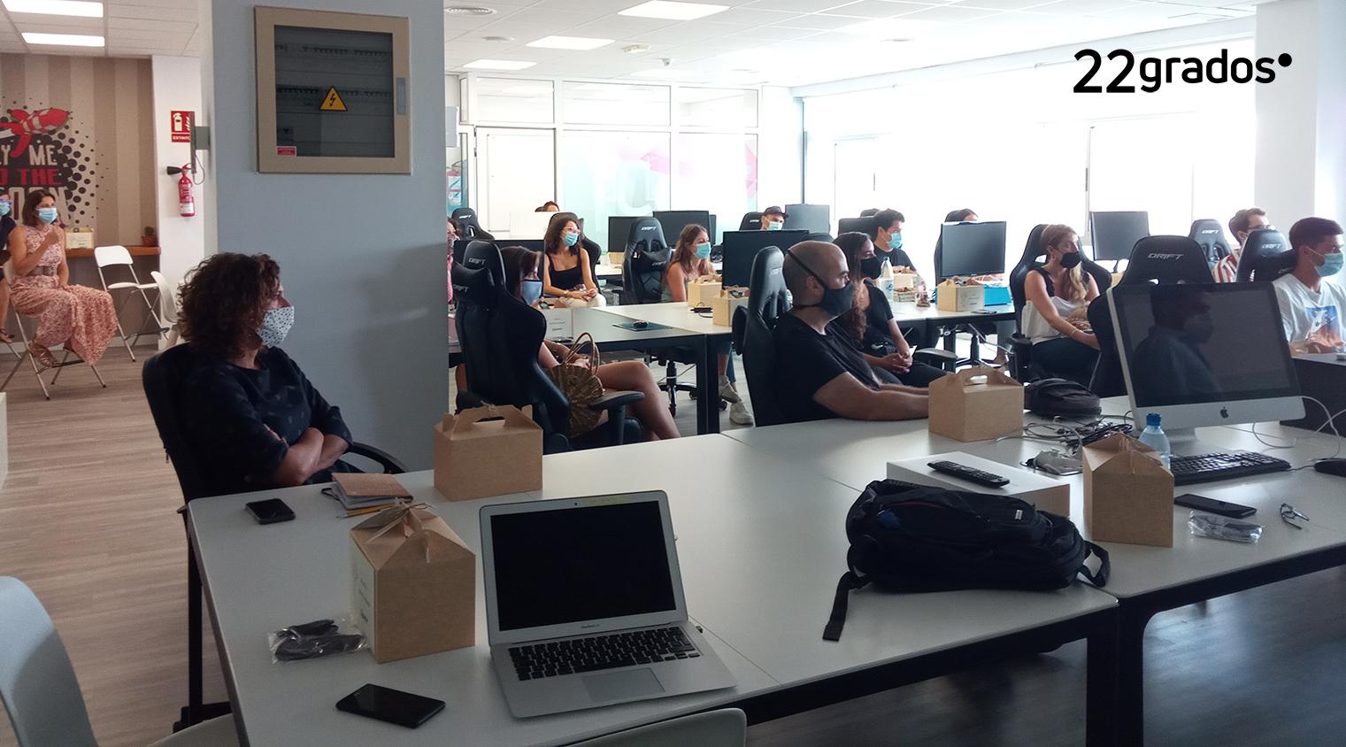 22grados propone el teletrabajo flexible en la organización
