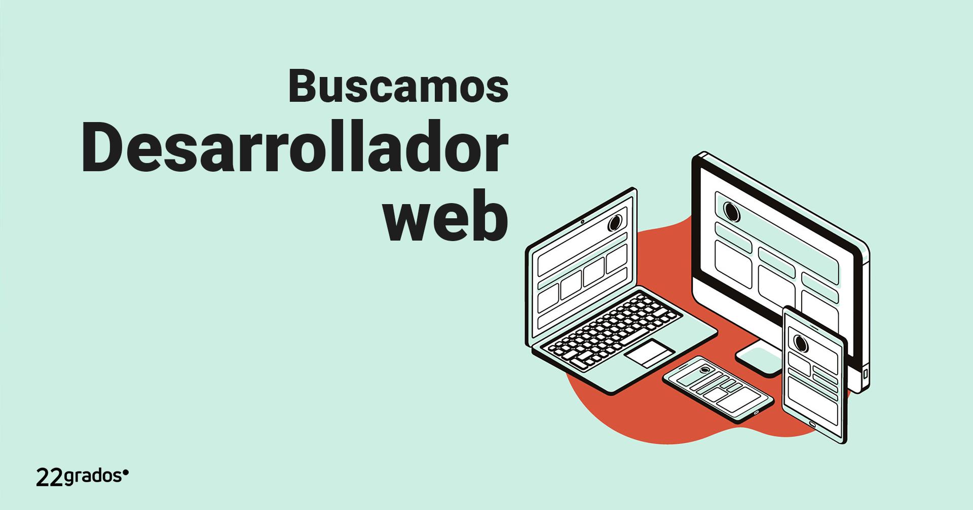 Buscamos Desarrollador web
