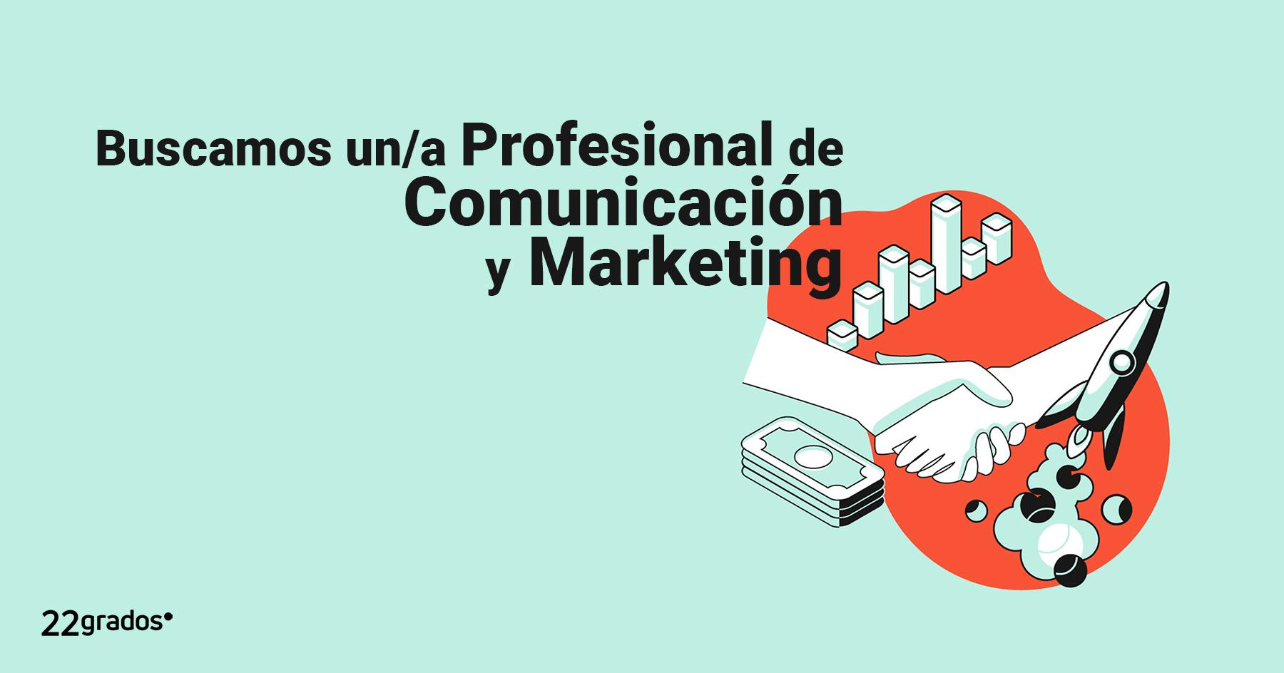 Buscamos un/a Profesional de Comunicación y Marketing