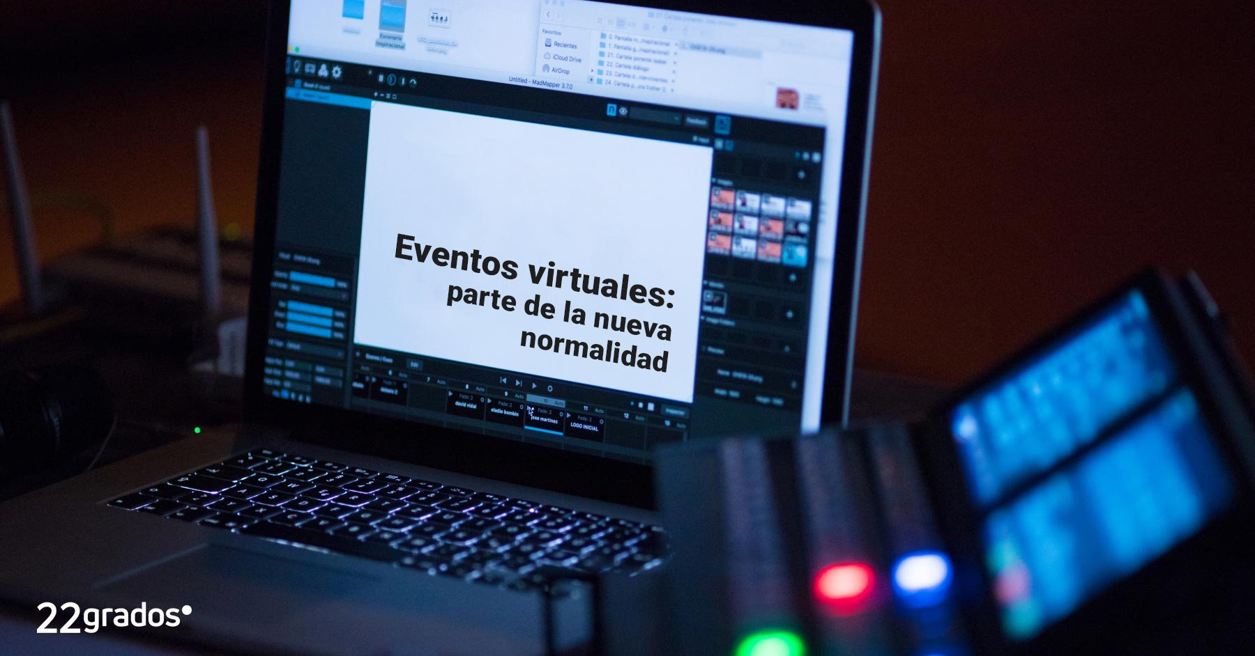 Eventos virtuales: parte de la nueva normalidad