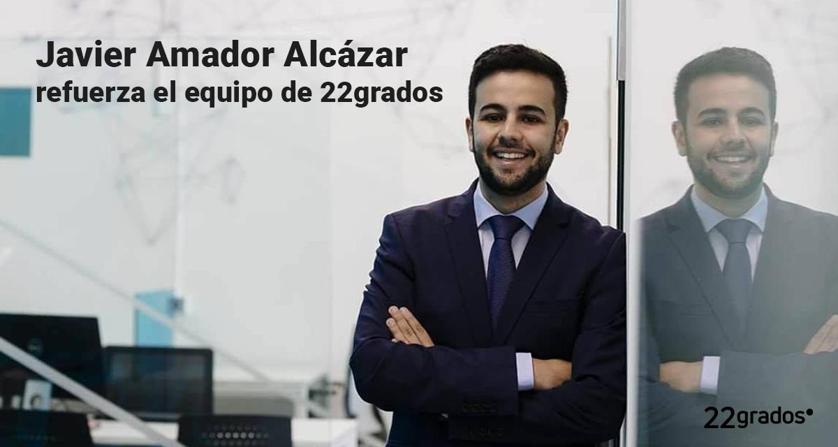 Javier Amador refuerza el equipo de 22grados
