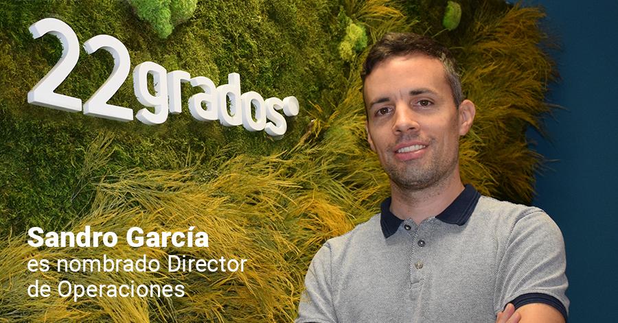 Sandro García asume la Dirección de Operaciones