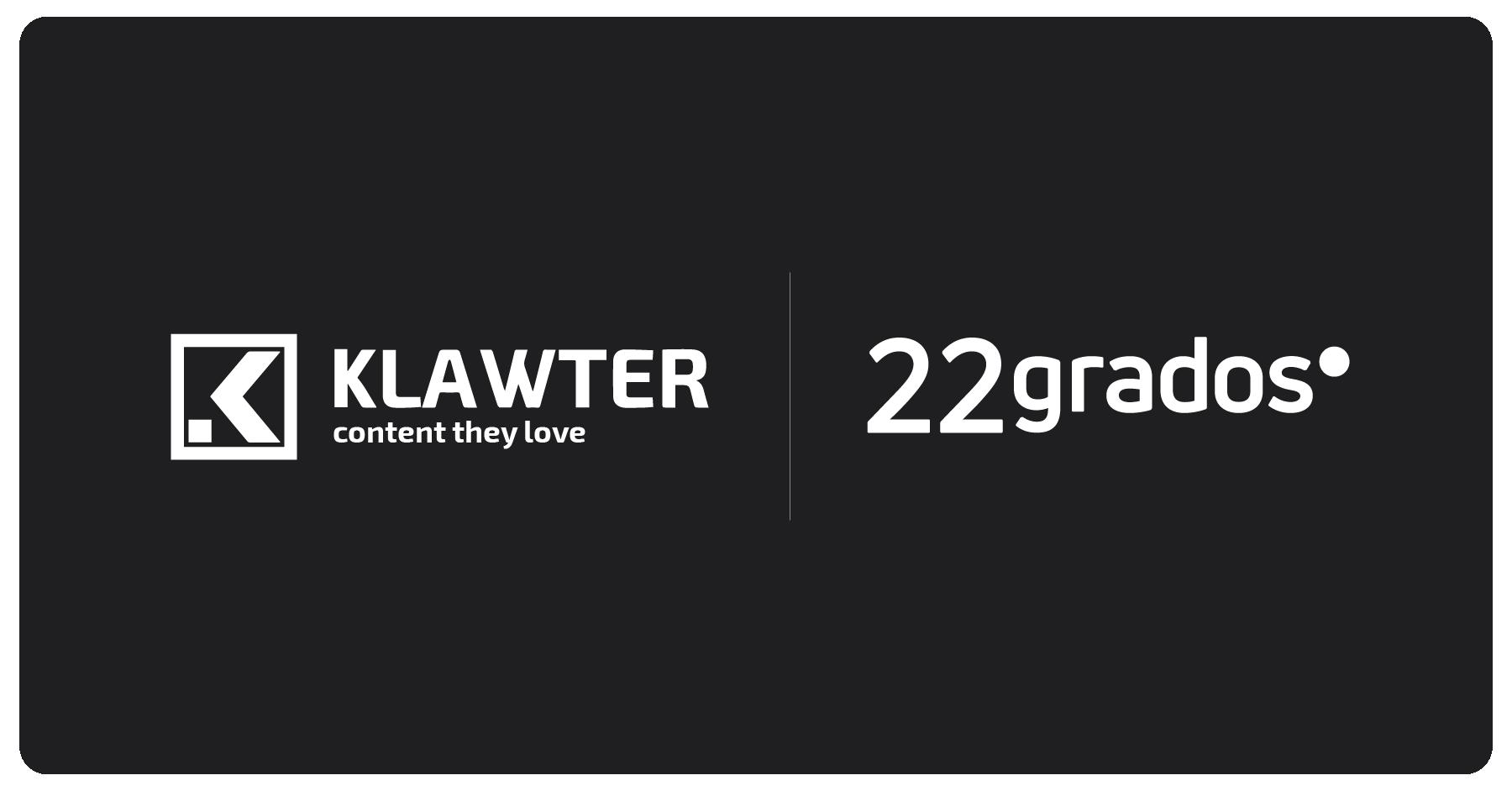 <b>Klawter y 22grados</b> <br>firman una alianza estratégica para el desarrollo de servicios de Social Content