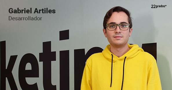 Gabriel Artiles se incorpora al equipo  de desarrollo y tecnología
