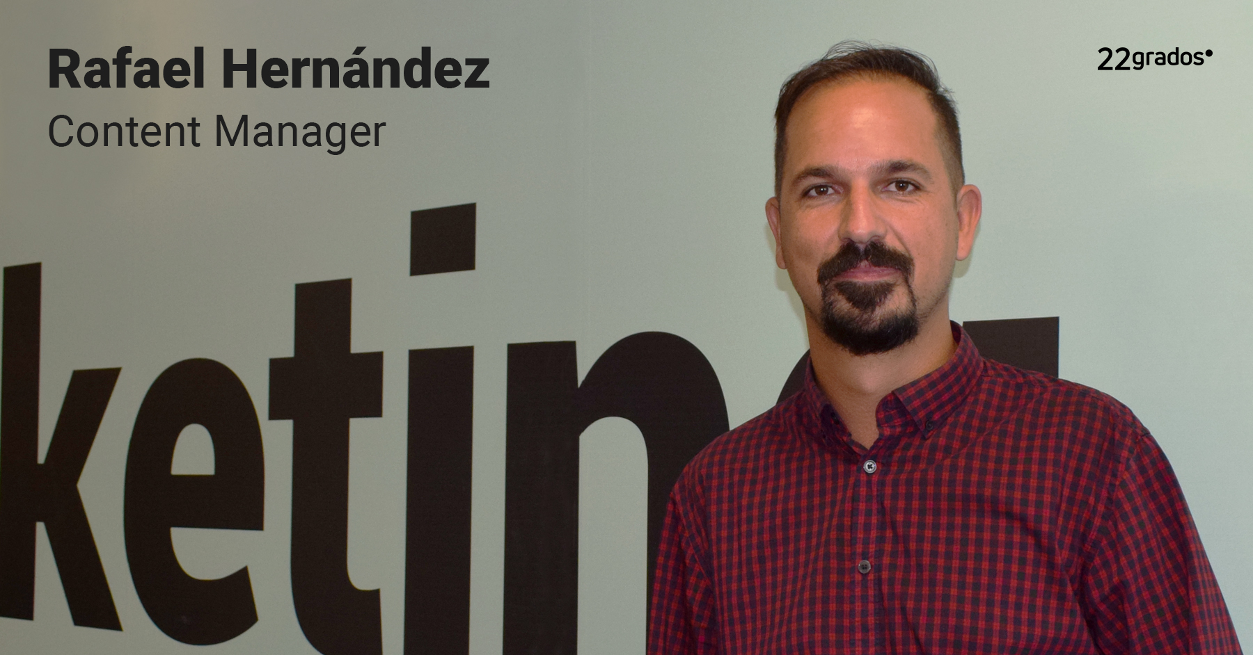 Rafael Hernández se incorpora como Content Manager