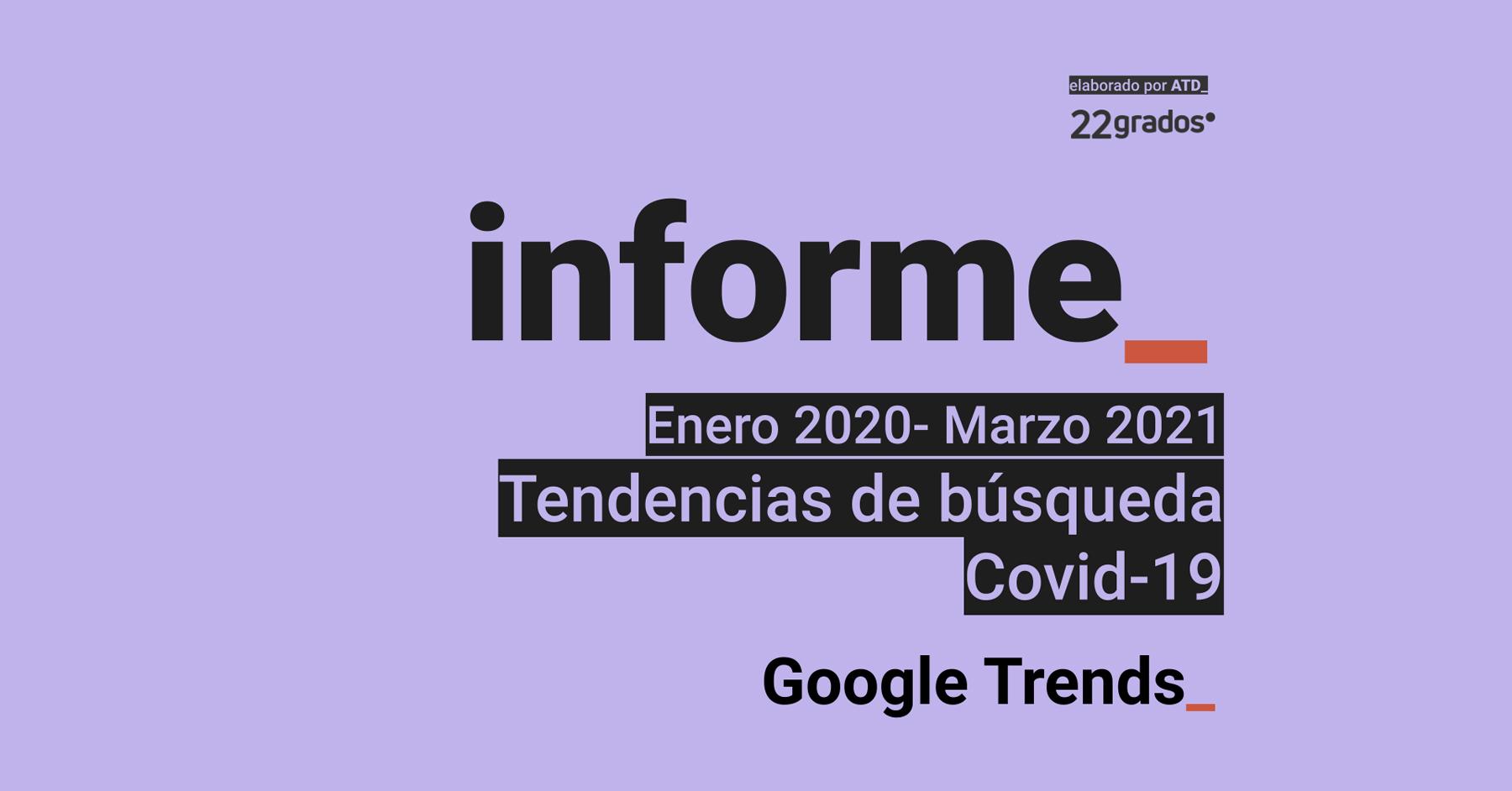 Descarga el Informe de Tendencias de búsqueda COVID-19