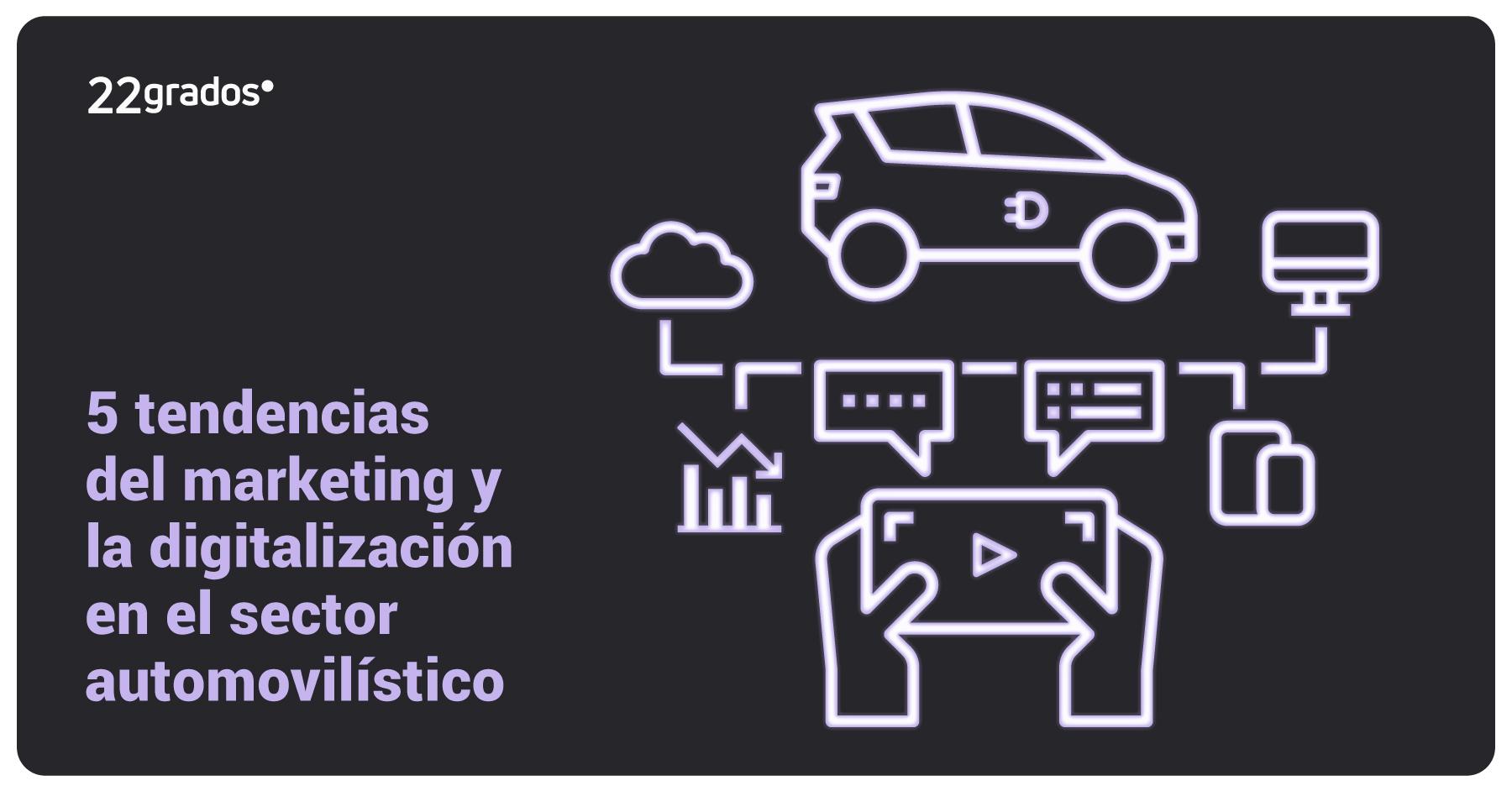 Las 5 tendencias del marketing y la digitalización en el sector automovilístico