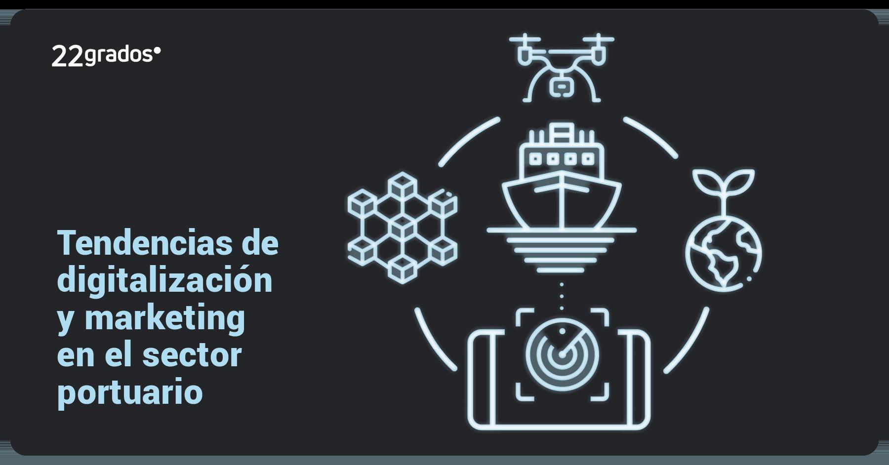 4 tendencias de digitalización y marketing en el sector portuario