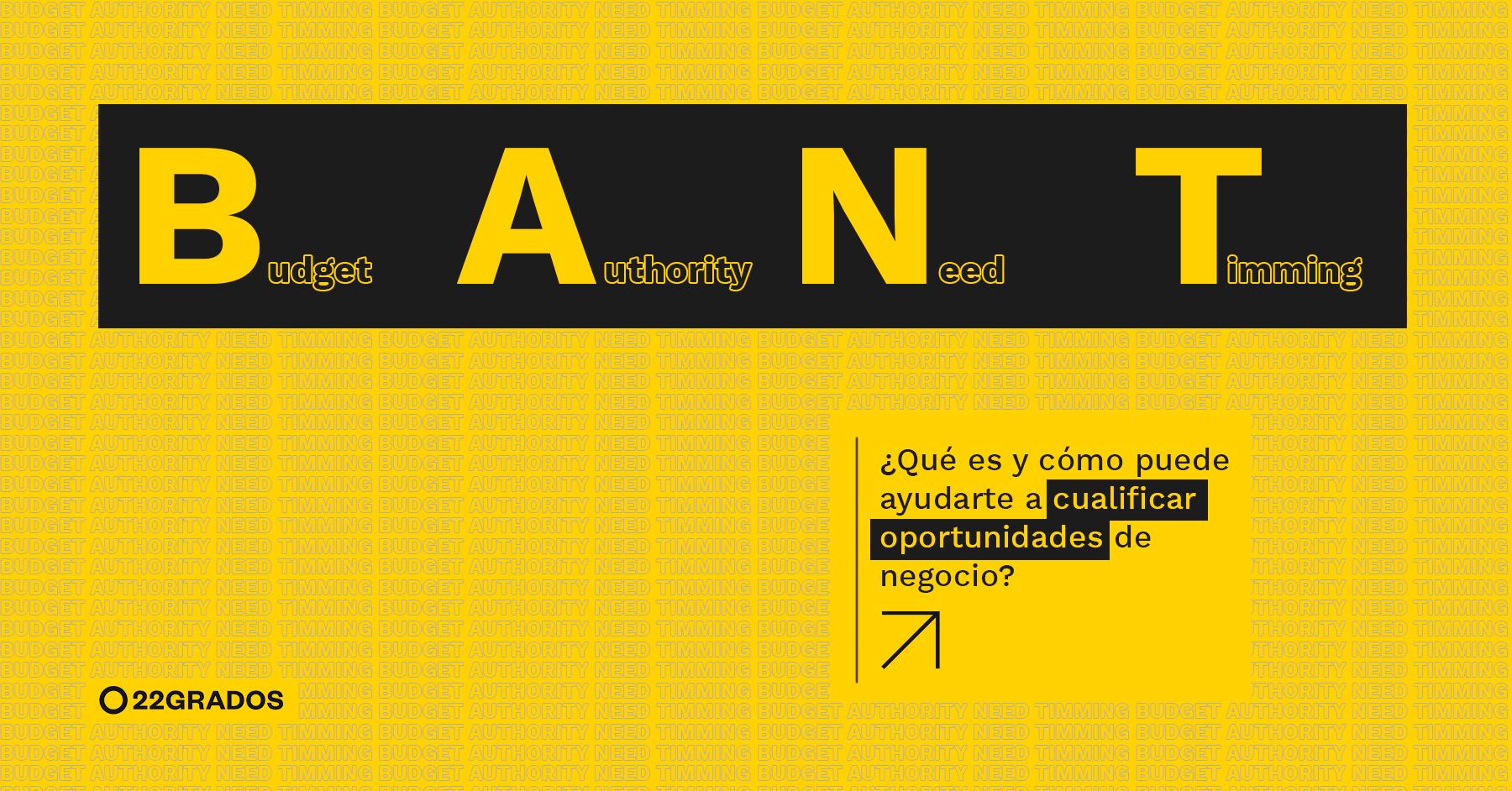 Método BANT: ¿Qué es y cómo puede ayudarte a cualificar oportunidades de negocio?