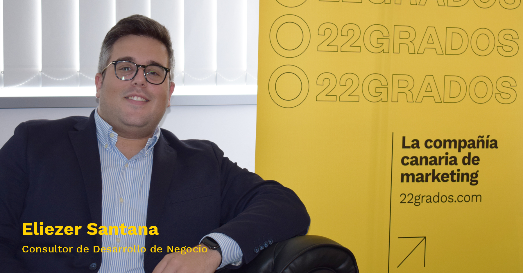 Eliezer Santana, nuevo consultor del equipo de Desarrollo de Negocio