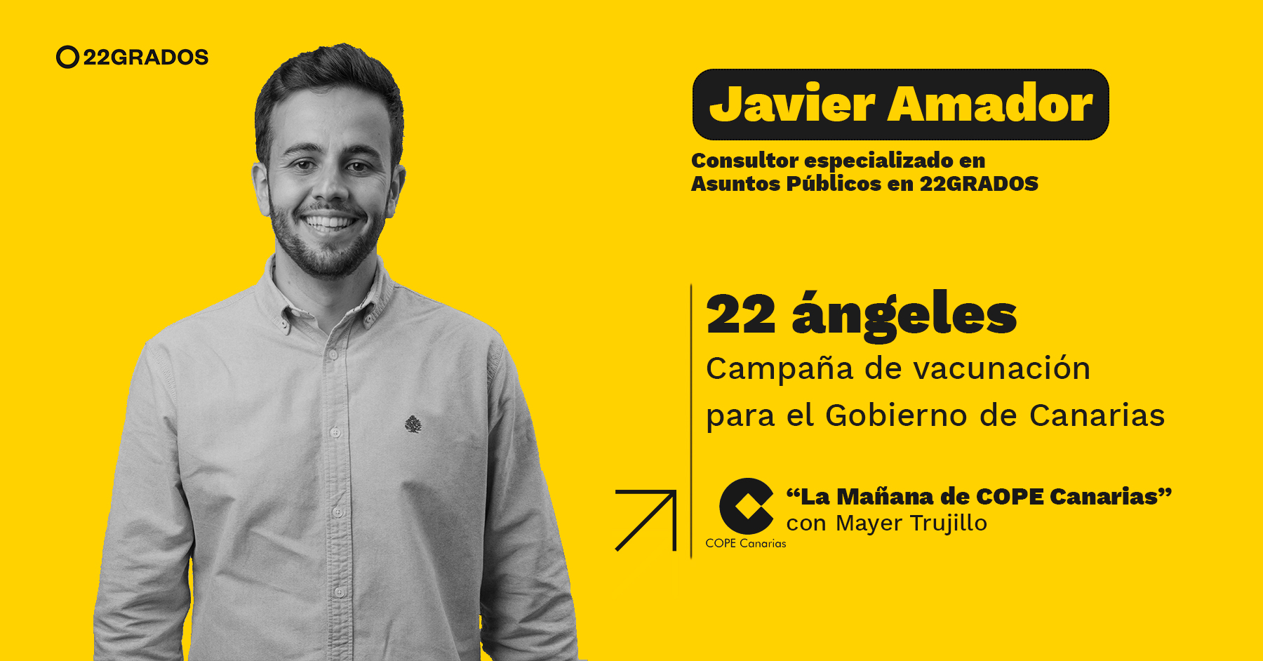 22 Ángeles, una campaña de vacunación para emocionar y movilizar