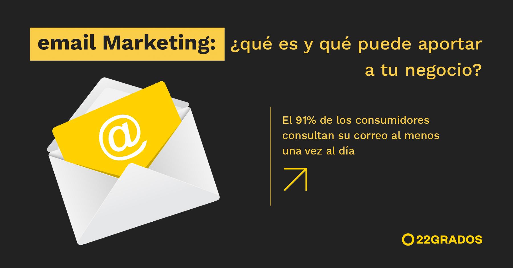 Email Marketing: ¿qué es y qué puede aportar a tu negocio?
